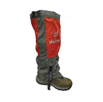 گتر دیوتر دو لایه قرمز بلند تا بالای زانو مناسب برای  کوهنوردی
