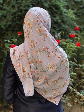 روسري حرير قواره ١٢٠ بسيار سبك و راحت (ليز نيست)