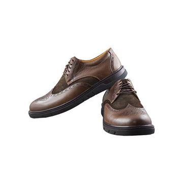 کفش اسپرت مردانه رویه ترکیب چرم اشبالت طبیعی گاوی
