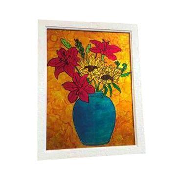 تابلوی نقاشی روی شیشه(ویترا) در سایز 35 در 45