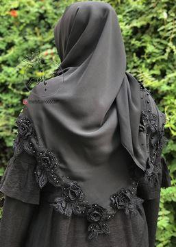روسری گل رز برجسته