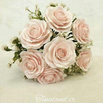 دسته گل عروس تینارز، با فوم های بسیار نازک و بادوامی بیش از ده سال، هدیه  بسیار زیبا و بارزش برای افراد خاص