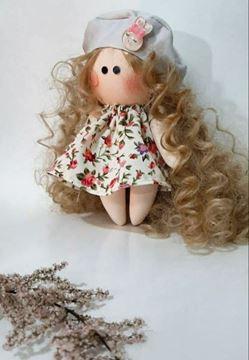 عروسک فندقی موفرفری، رنگ مو و لباس متغییر و قابل انتخاب است مناسب برای  دکوراسیون هدیه خاص برای دوستان